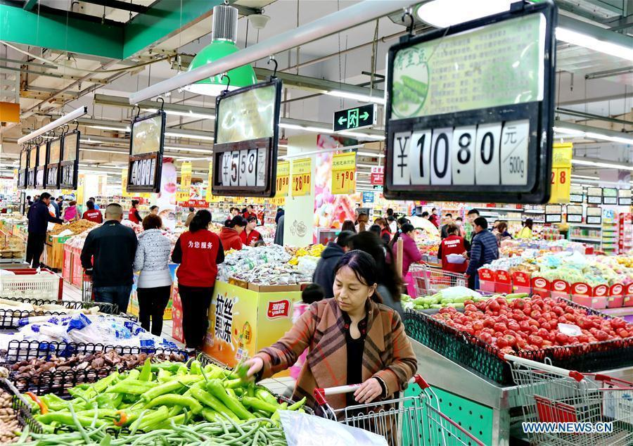 china cpi grew fastest in four years