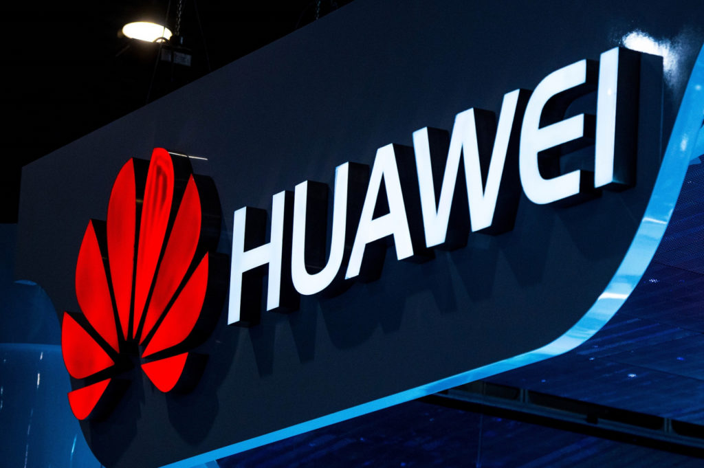 Chinese tech company Huawei